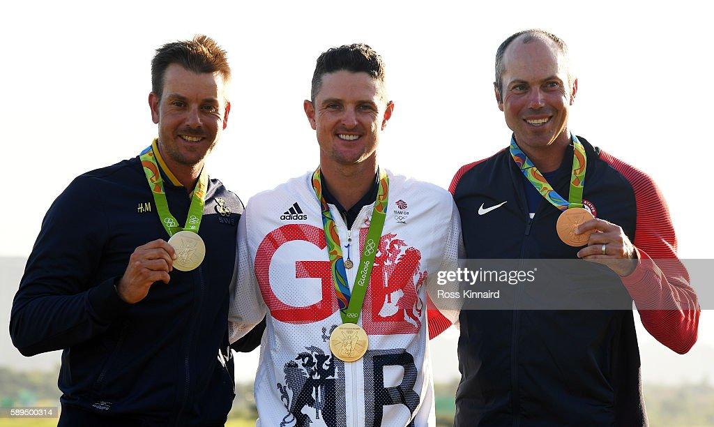 Golf - Olympics: Day 9 : ニュース写真