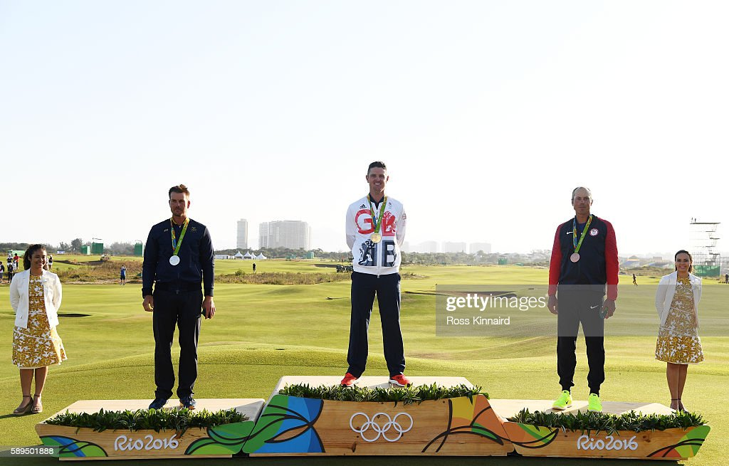 Golf - Olympics: Day 9 : News Photo