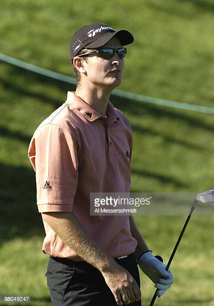 Justin Rose tees off during secondround play at the PGA Tour's Players Championship March 26 2004