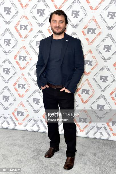Justin Rosniak attends FX Networks Starwalk Red Carpet at TCA at The Beverly Hilton Hotel on August 3 2018 in Beverly Hills California