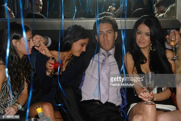 Justin Ross Lee and Christina Kraft attend Justin Ross Lee's Birthday Party at 49 Grove on April 9 2010 in New York City