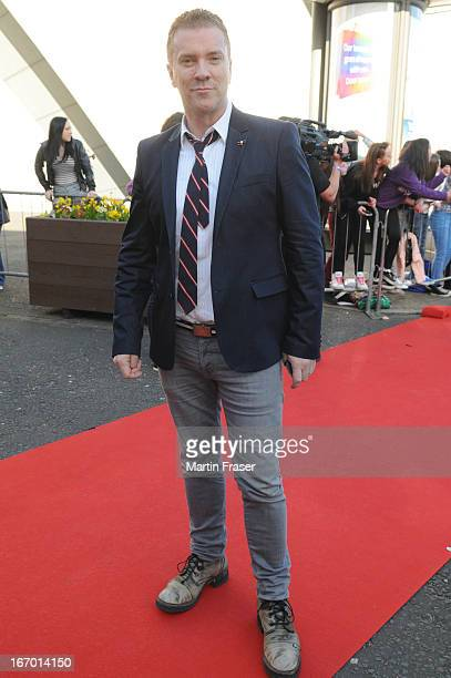 Justin Ryan attends the Young Scot Awards 2013 at Crowne Plaza on April 19 2013 in Glasgow Scotland