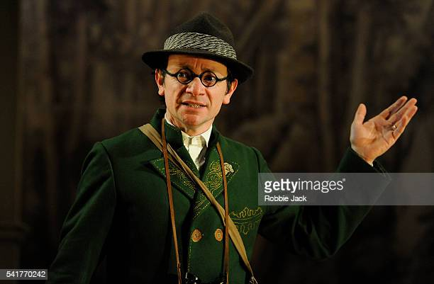 Justin Salinger as Johann the father in Lucy Kirkwood's Hansel and Gretel directed by Katie Mitchell at the National Theatre in London