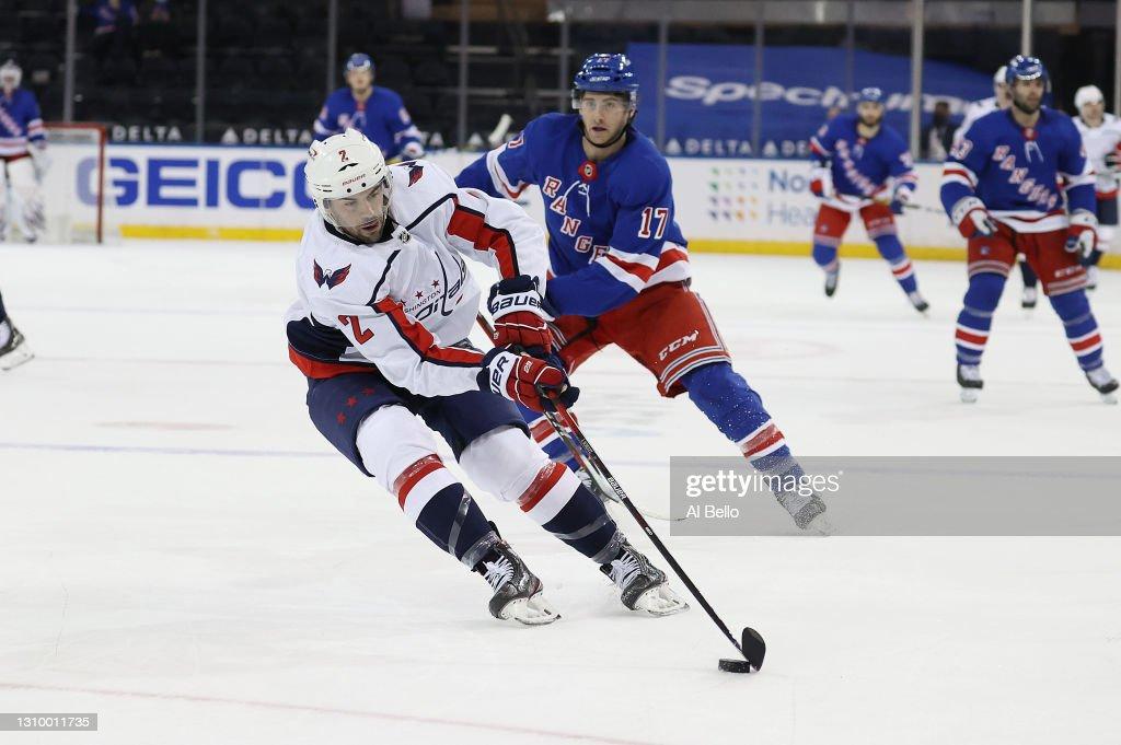 Washington Capitals v New York Rangers : News Photo