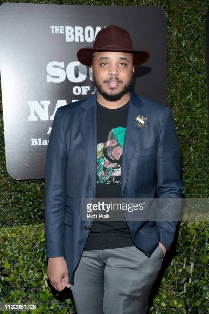 Justin Simien attends The Broad Museum celebration for the opening of Soul Of A Nation Art in the Age of Black Power 19631983 Art Exhibition at The...