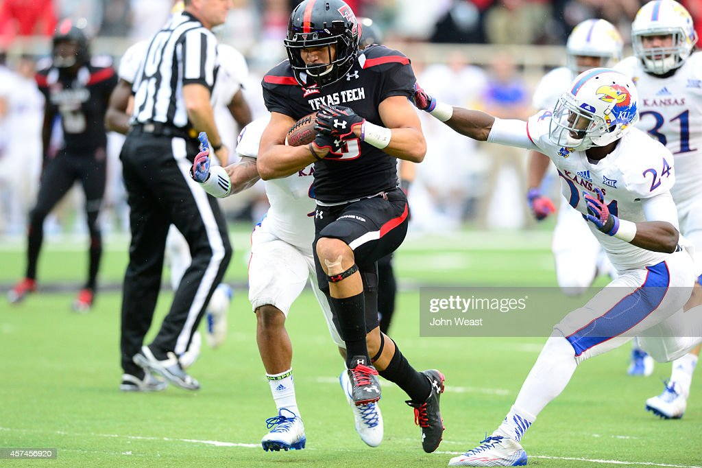 Kansas v Texas Tech : News Photo