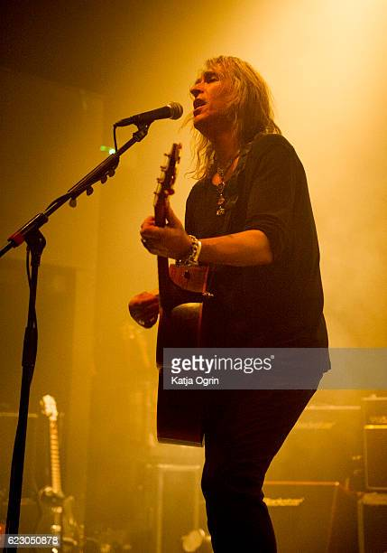 Justin Sullivan of New Model Army Performs At 02 Institute Birmingham on November 13 2016 in Birmingham England