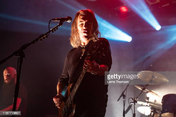 Justin Sullivan of New Model Army performs at Electric Ballroom on November 14, 2019 in London, England.