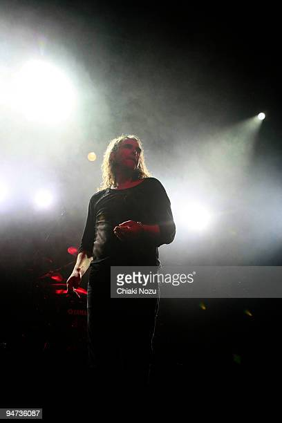 Justin Sullivan of New Model Army performs at The Forum on December 17, 2009 in London, England.
