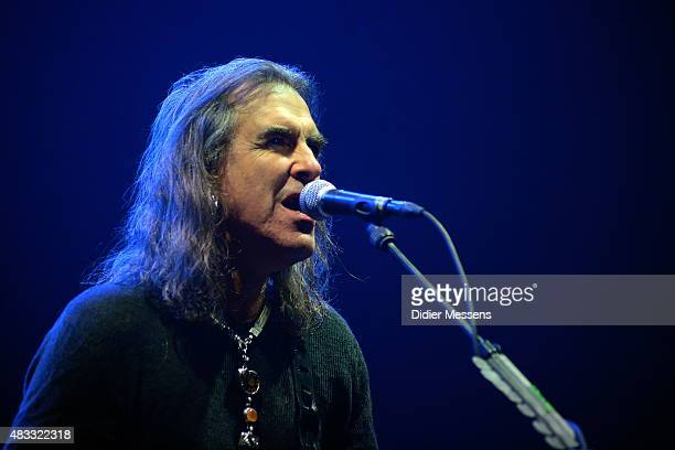 Justin Sullivan of New Model Army performs on stage at Wacken Open Air festival on July 29 2015 in Wacken Germany