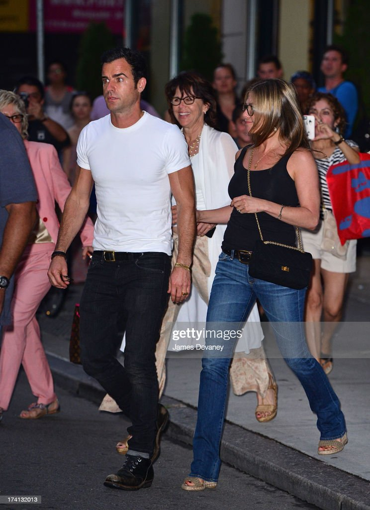 Celebrity Sightings In New York City - July 20, 2013 : News Photo