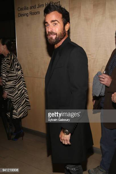 Justin Theroux attends 'A Quiet Place' New York Premiere After Party on April 2 2018 in New York City