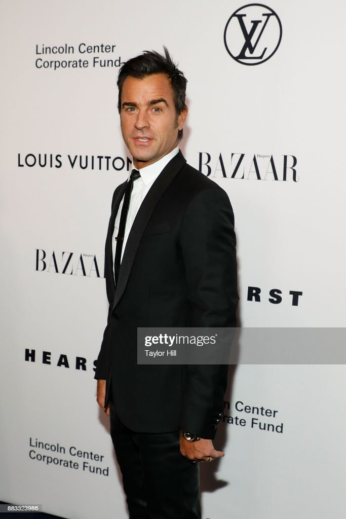 Justin Theroux attends 'An Evening Honoring Louis Vuitton And Nicolas Ghesquiere' at Alice Tully Hall at Lincoln Center on November 30, 2017 in New York City.