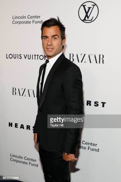 Justin Theroux attends 'An Evening Honoring Louis Vuitton And Nicolas Ghesquiere' at Alice Tully Hall at Lincoln Center on November 30 2017 in New...