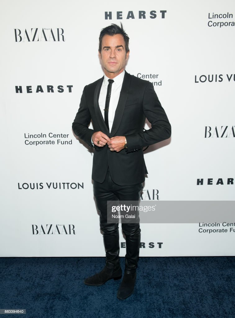 Justin Theroux attends an evening honoring Louis Vuitton and Nicolas Ghesquiere at Alice Tully Hall at Lincoln Center on November 30, 2017 in New York City.