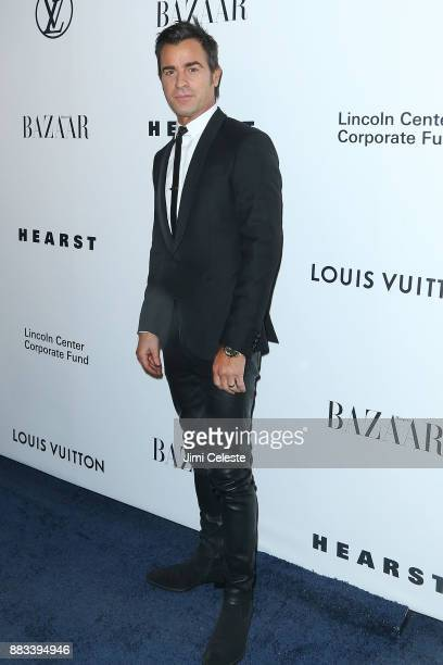 Justin Theroux attends An Evening Honoring Louis Vuitton and Nicolas Ghesquiere at Lincoln Center on November 30 2017 in New York City