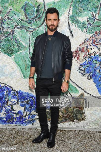 Justin Theroux attends Louis Vuitton 2019 Cruise Collection at Fondation Maeght on May 28 2018 in SaintPaulDeVence France