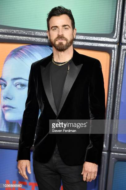 Justin Theroux attends Maniac Season 1 Premiere at Center 415 on September 20 2018 in New York City