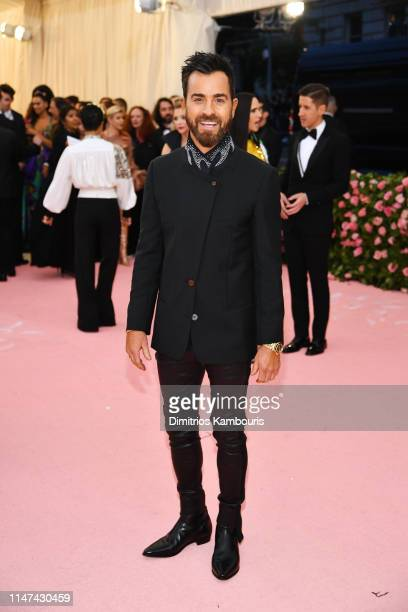 Justin Theroux attends The 2019 Met Gala Celebrating Camp Notes on Fashion at Metropolitan Museum of Art on May 06 2019 in New York City
