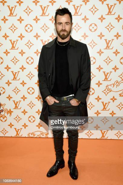 Justin Theroux attends the Louis Vuitton X Grace Coddington Event on October 25 2018 in New York City