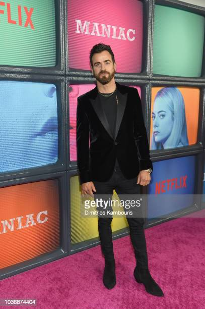 Justin Theroux attends the Netflix Original Series 'Maniac' New York Premiere Screening and After Party at Center 415 on September 20 2018 in New...