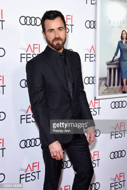 Justin Theroux attends the Opening Night World Premiere Gala Screening of 'On The Basis Of Sex' at AFI FEST 2018 Presented By Audi at TCL Chinese...