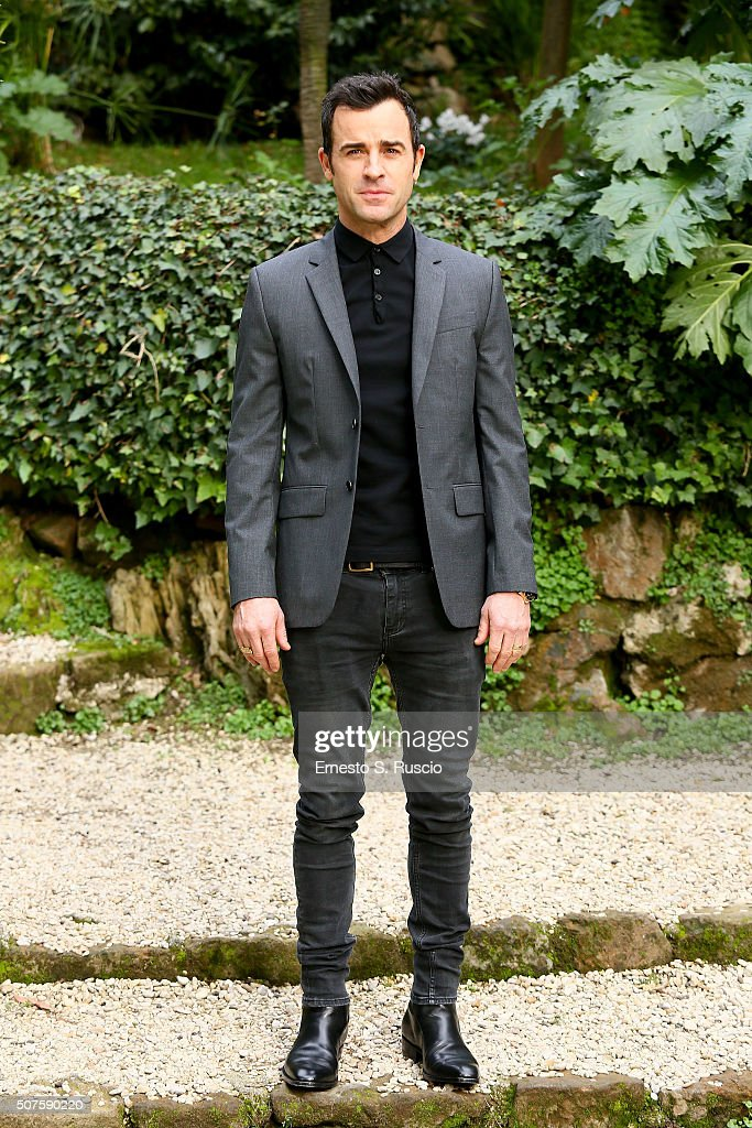 Justin Theroux attends the Photocall for the Fan Screening of the Paramount Pictures film 'Zoolander No. 2' at 'Hotel De Russie Garden' on January 30, 2016 in Rome, Italy.