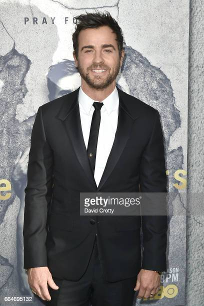 Justin Theroux attends the Premiere Of HBO's The Leftovers Season 3 Arrivals at Avalon Hollywood on April 4 2017 in Los Angeles California