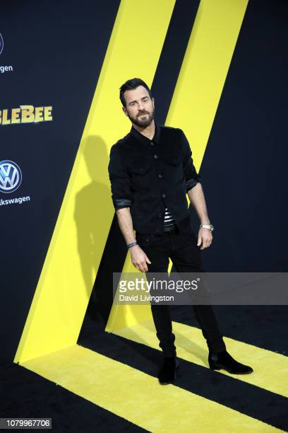 Justin Theroux attends the premiere of Paramount Pictures' 'Bumblebee' at TCL Chinese Theatre on December 09 2018 in Hollywood California