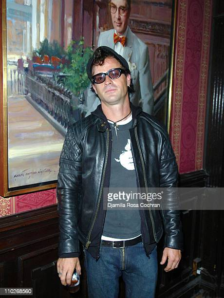 Justin Theroux during Jimmy Fallon's Birthday Party - September 24, 2005 at The National Arts Club in New York City, New York, United States.