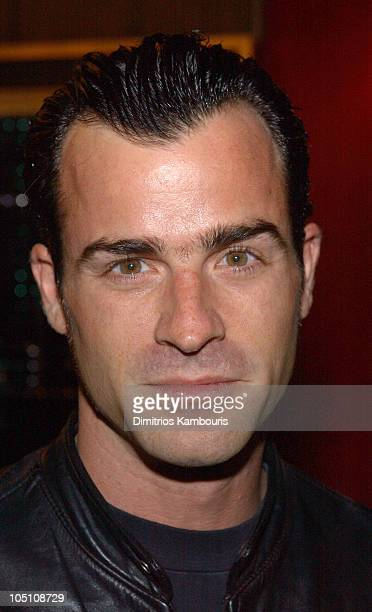 Justin Theroux during Matrix Reloaded New York Premiere Inside Arrivals at Ziegfeld Theater in New York City New York United States
