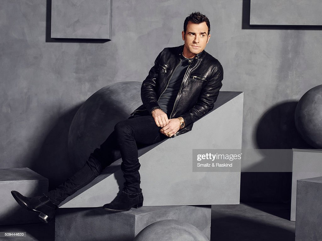 Justin Theroux is photographed for The Hollywood Reporter on May 31, 2015 in Los Angeles, California.