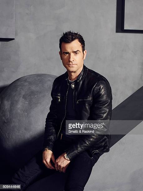 Justin Theroux is photographed for The Hollywood Reporter on May 31 2015 in Los Angeles California
