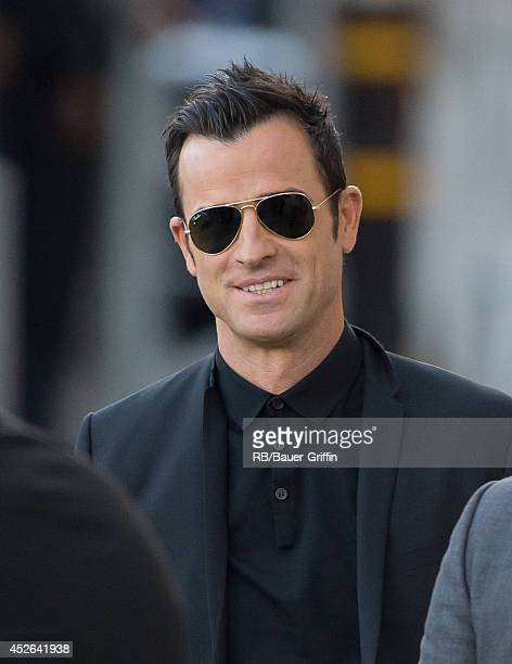 Justin Theroux is seen on July 24 2014 in Los Angeles California