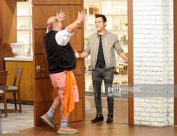 THE CHEW Justin Theroux is the guest on Wednesday September 20 2017 on ABC's 'The Chew' 'The Chew' airs MONDAY FRIDAY on the ABC Television Network...