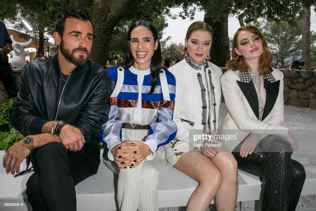 Louis Vuitton 2019 Cruise Collection : Front Row : ニュース写真