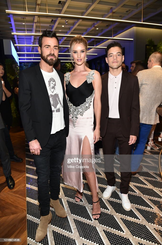 Justin Theroux Rosie Huntington Whiteley And Rami Malek Attend The Intersect By Lexus