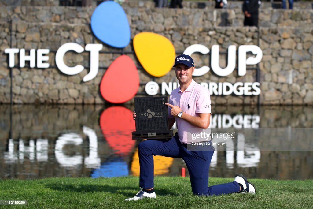 The CJ Cup @Nine Bridges - Final Round : News Photo