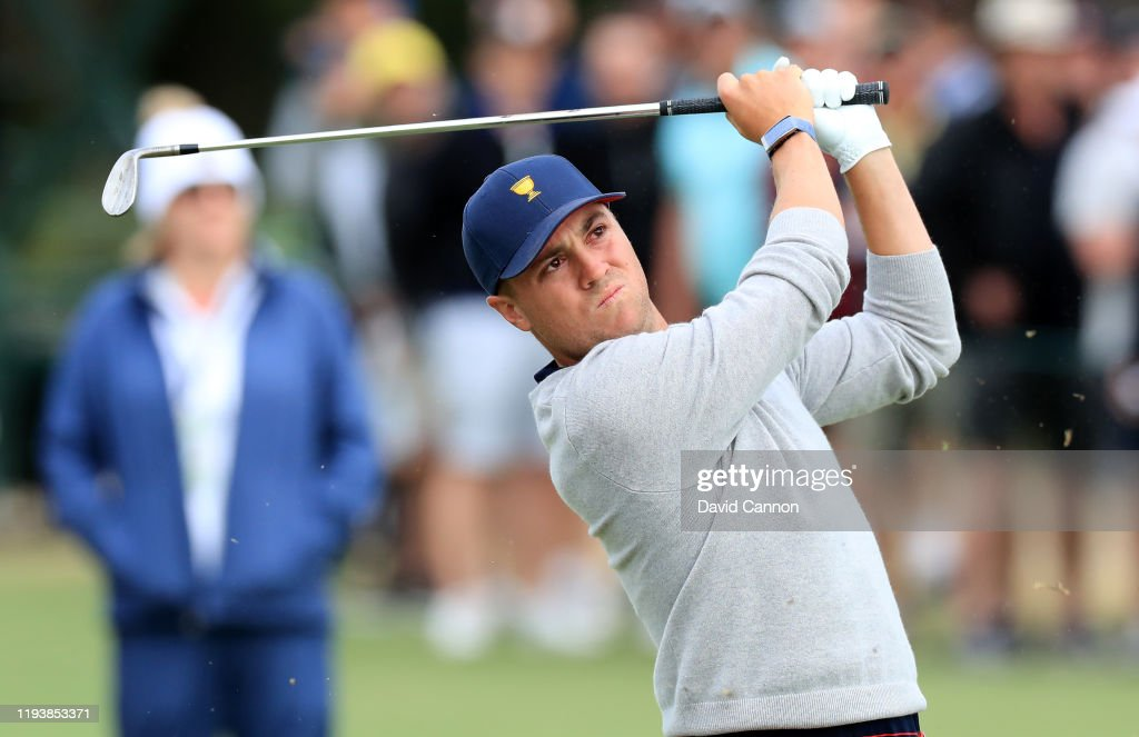 2019 Presidents Cup - Day 3 : News Photo