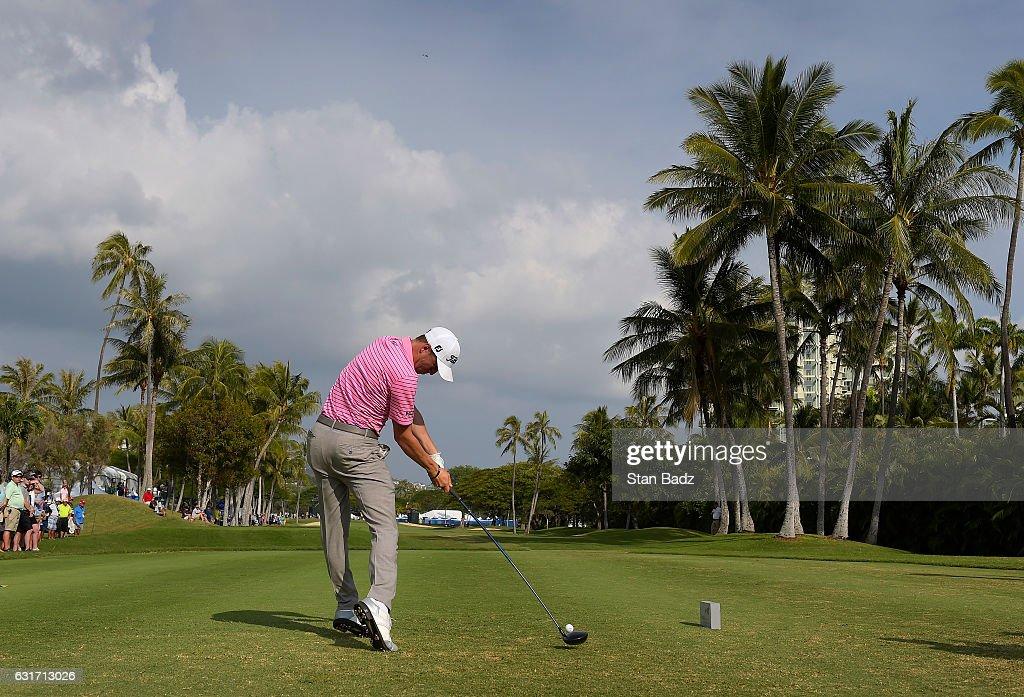 Sony Open in Hawaii - Round Three : News Photo