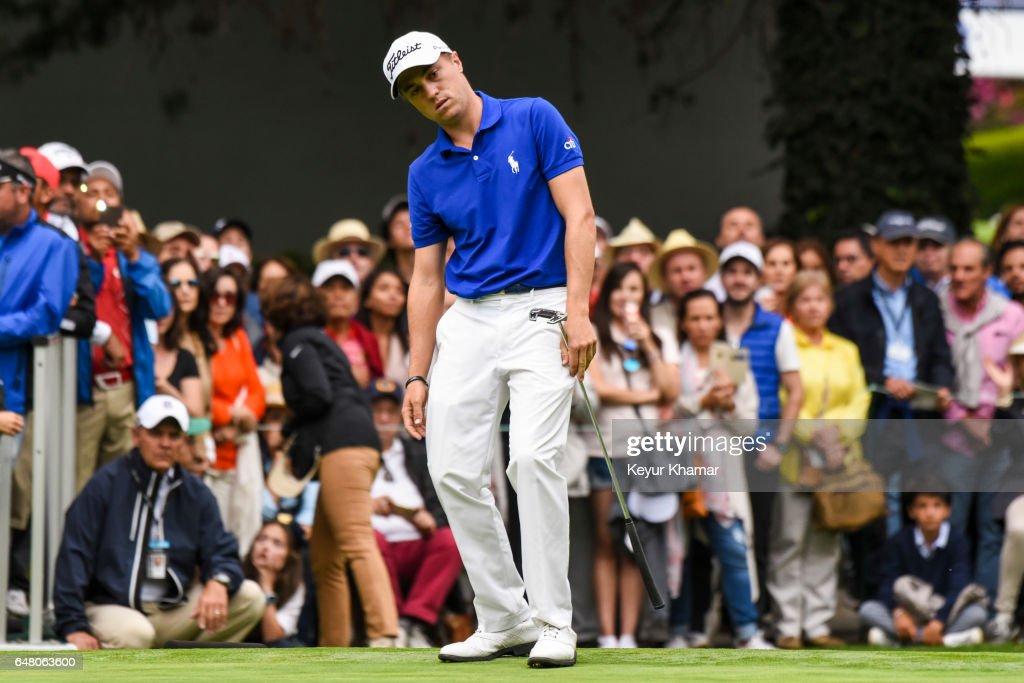 World Golf Championships-Mexico Championship - Round Three : News Photo