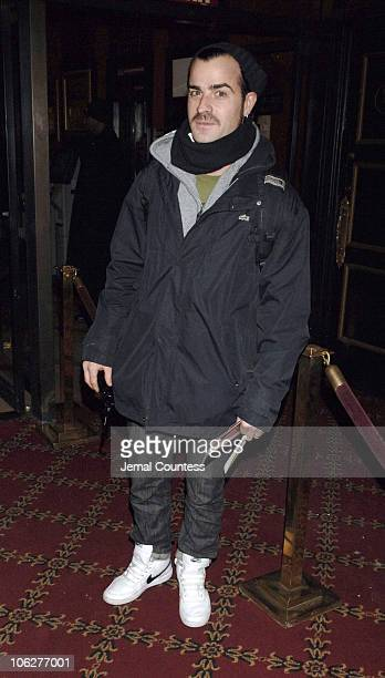 Justin Thoureax during 'Memoirs of a Geisha' New York City Premiere Inside Arrivals at Ziegfeld Theater in New York City New York United States