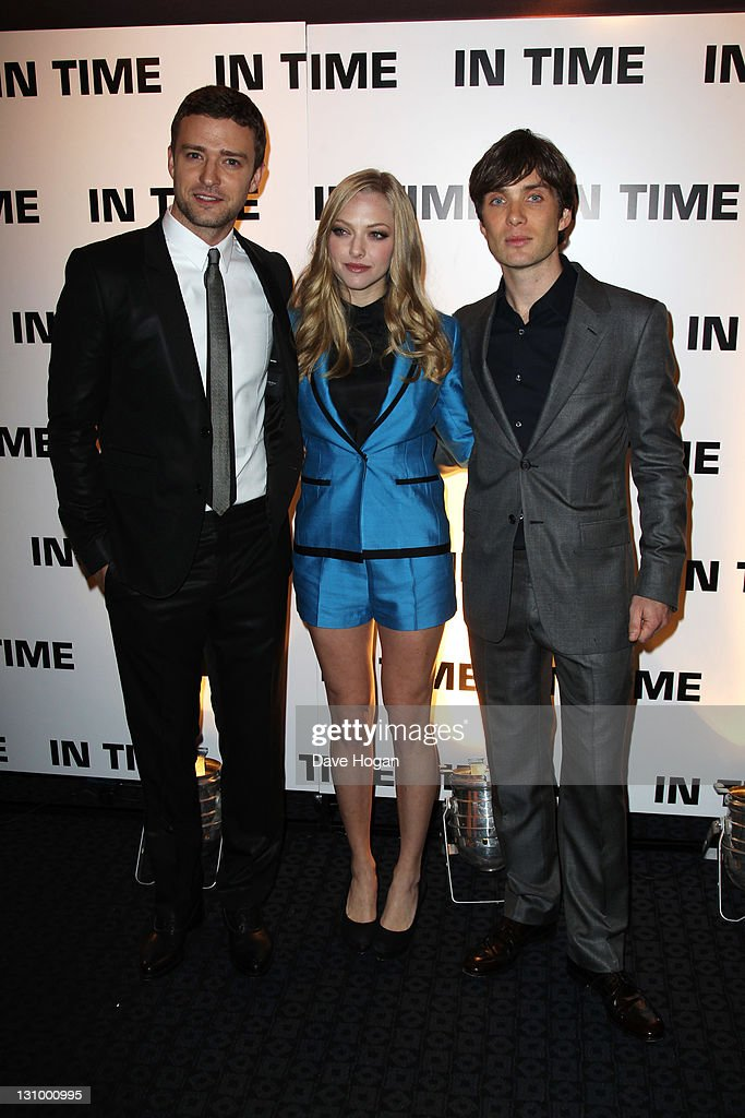 In Time - UK Premiere - Inside Arrivals