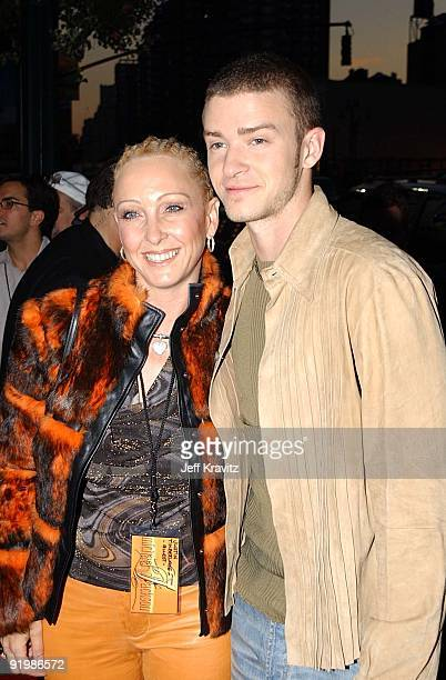 Justin Timberlake and his mother Lynn Harless