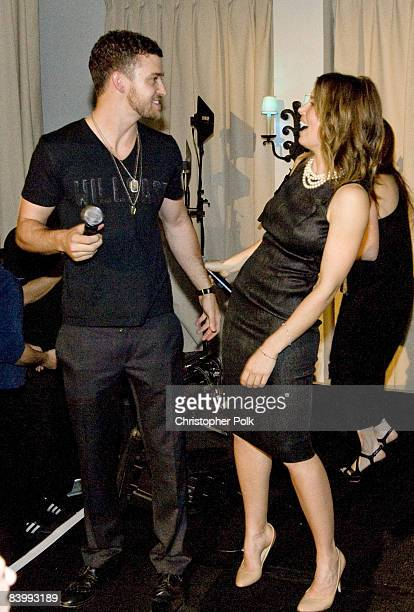 HOLLYWOOD DECEMBER 10 Justin Timberlake and Jessica Biel during Jessica Biel Make The Difference Network Partner with Auction Cause to Benefit...