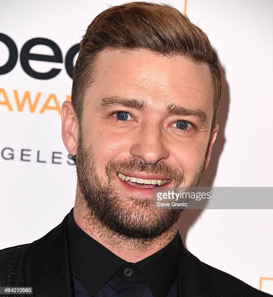 Justin Timberlake arrives at the 2015 GLSEN Respect Awards at the Beverly Wilshire Four Seasons Hotel on October 23 2015 in Beverly Hills California