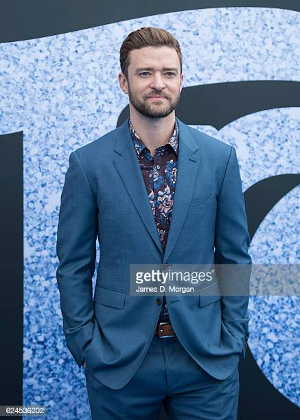 Justin Timberlake arrives at the 'Trolls' Australian Premiere at the Entertainment Quarter Fox Studios on November 20 2016 in Sydney Australia He had...