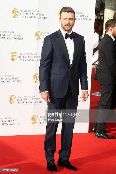 Justin Timberlake arrives for the House Of Fraser British Academy TelevisionAwards 2016 at the Royal Festival Hall on May 8 2016 in London England