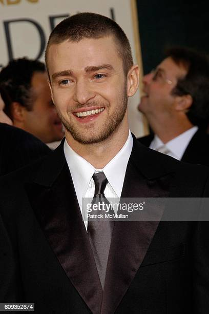 Justin Timberlake attends 64th Annual Golden Globes Awards Arrivals at Beverly Hilton Hotel on January 15 2007 in Beverly Hills CA