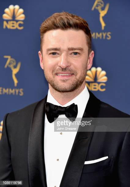 Justin Timberlake attends the 70th Emmy Awards at Microsoft Theater on September 17, 2018 in Los Angeles, California.